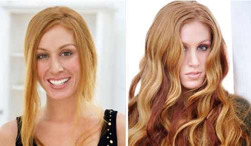 Ultratress real human hair extensions for thinning hair in Syracuse NY